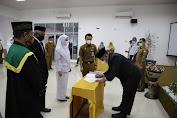 Pemkab Aceh Besar Lantik 43 Pejabat Fungsional, Ini Pesan Sekda