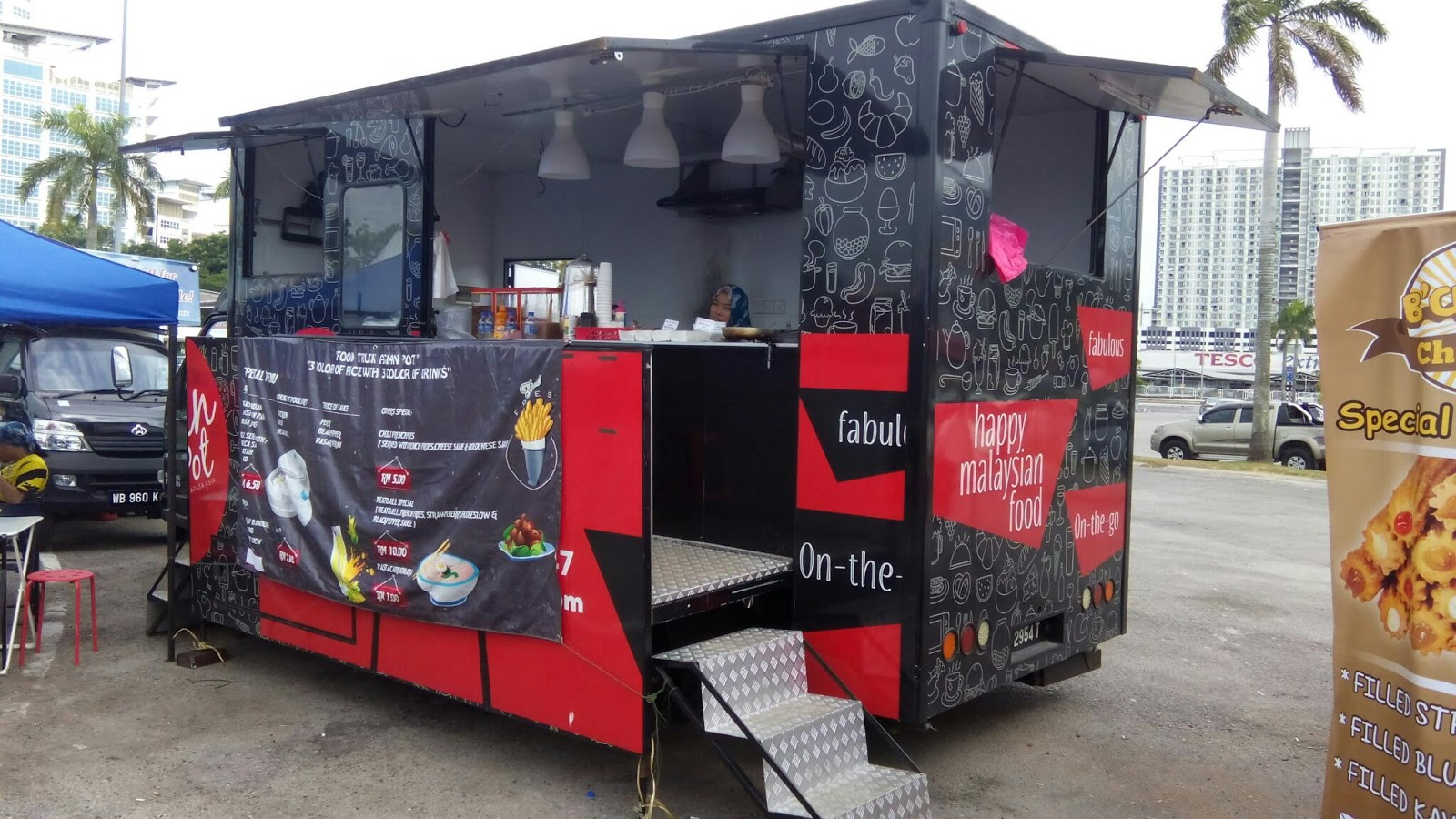 Wok Kitchen Food Truck