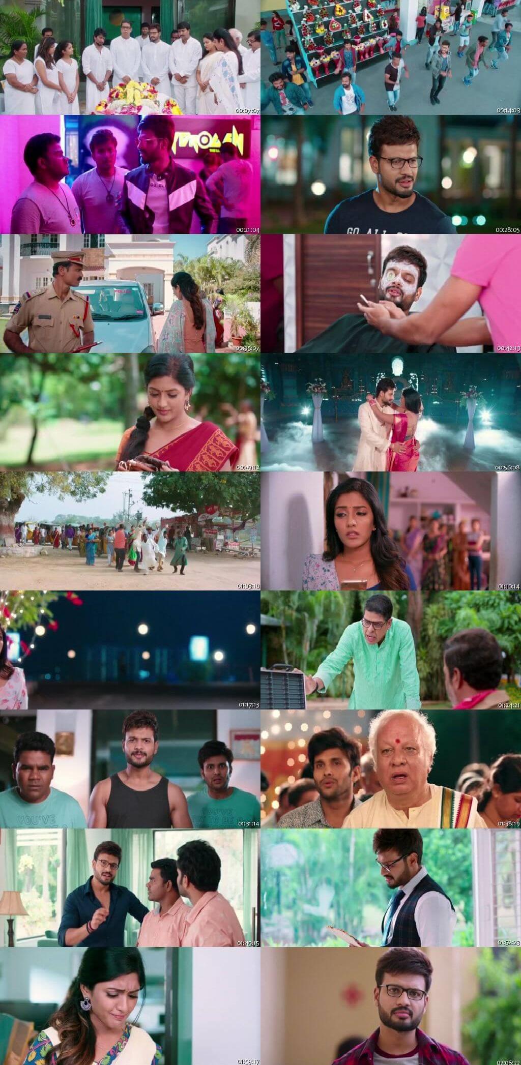 Screen Shot Of Brand Babu 2018 300MB Full Movie Hindi Dubbed Free Download 720P HDRip HEVC