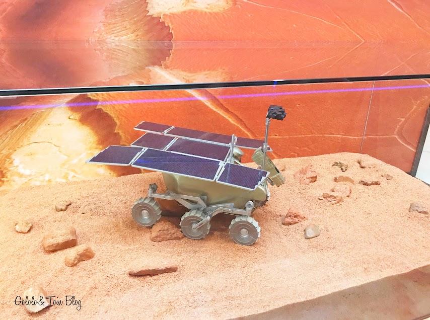 Exposición Europa en el Espacio del Planetrio de Madrid