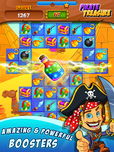 Pirate Treasure ud83dudc8e Match 3 Games 3.2.9 screenshots 11