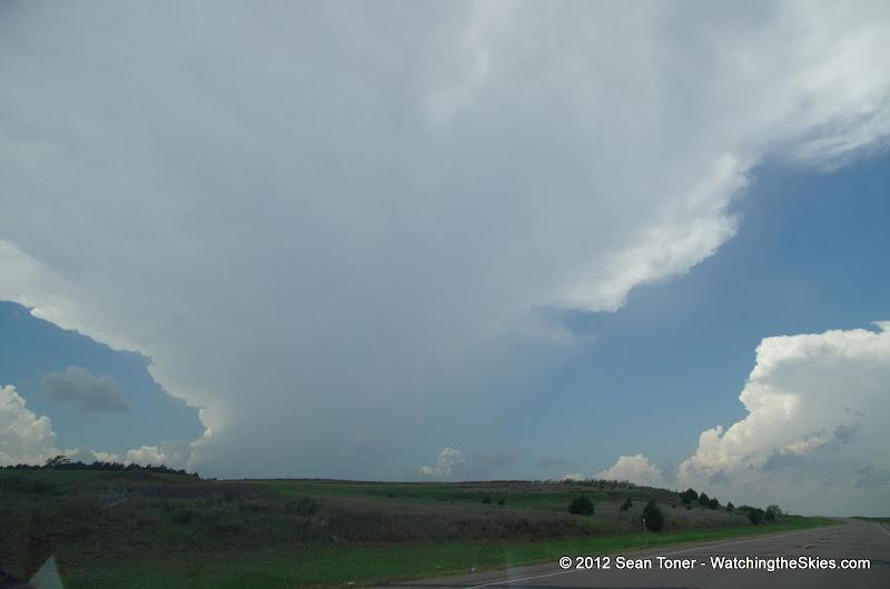 04-14-12 Oklahoma & Kansas Storm Chase - High Risk - IMGP0347.JPG