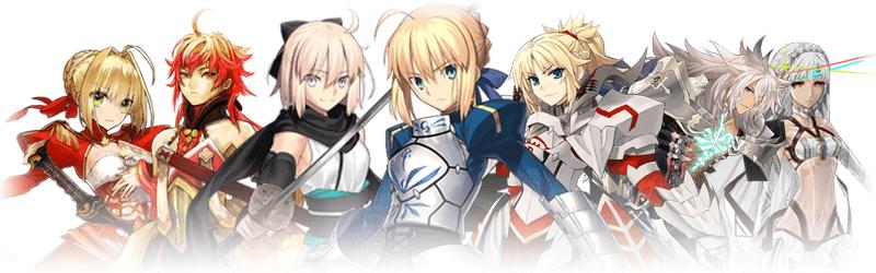 Macam Kelas Servant Di Fate Series