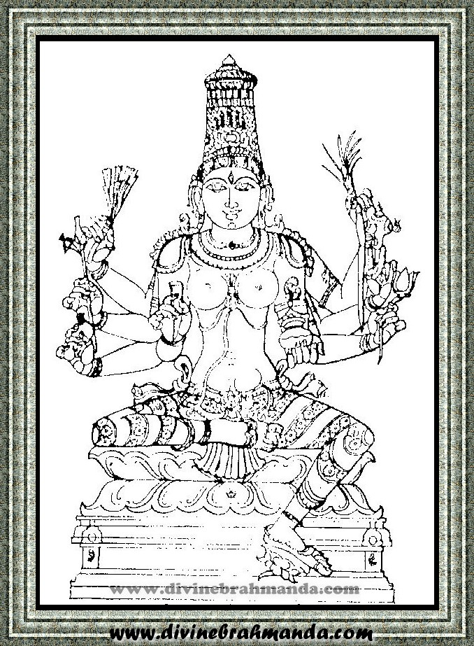Soundarya Lahari Sloka, Yantra & Goddess For Victory In Love - 18