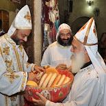 Fr. Luke's first liturgy