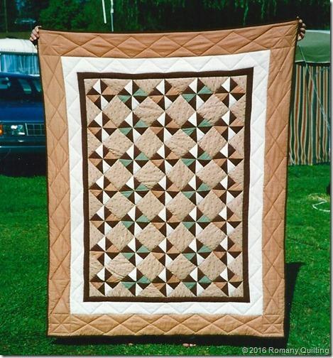 Caravan Pinwheel quilt