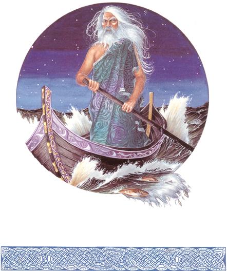 Sea God, Celtic And Druids