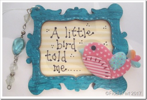 A Little Bird Told Me Tag