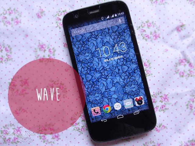 papel de parede celular smartphone wallpaper azul ondas abstrato