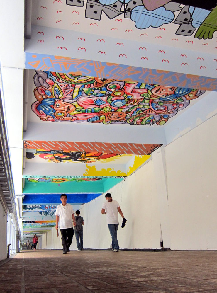 Filling the Business District with Art