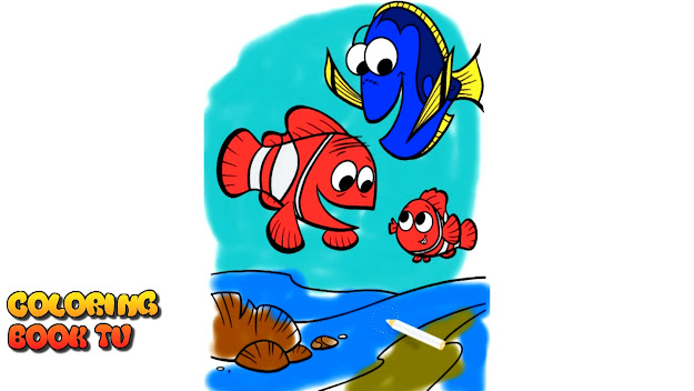 Finding Dory  Coloring Book