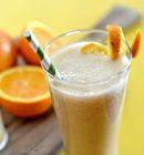 Es jus buah jeruk campur pisang