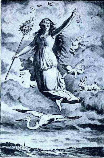 Greek Goddess Eostre Image