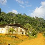 Saül (Guyane) : la piste vers l'aéroport. 30 novembre 2011. Photo : J.-M. Gayman