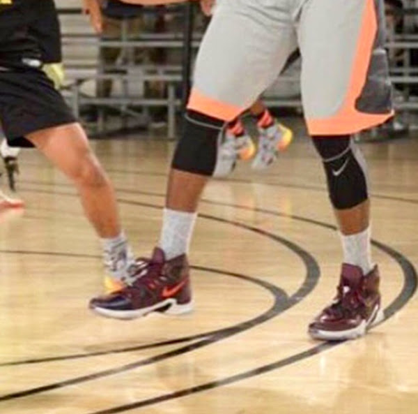 A Slightly Better Look at Possibly the Nike LeBron 13s