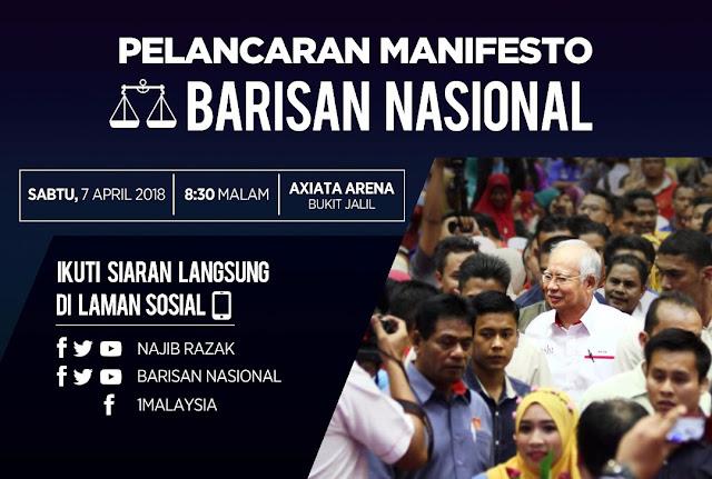 99.4 peratus manifesto BN PRU-13 berjaya ditunaikan, Pakatan Harapan terus dengan pusingan U