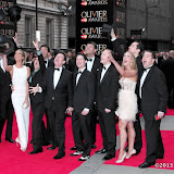 WWW.ENTSIMAGES.COM -  Top Hat Cast  at      The Olivier Awards at Royal Opera House, Covent Garden, London, April 28th 2013                                               Photo Mobis Photos/OIC 0203 174 1069