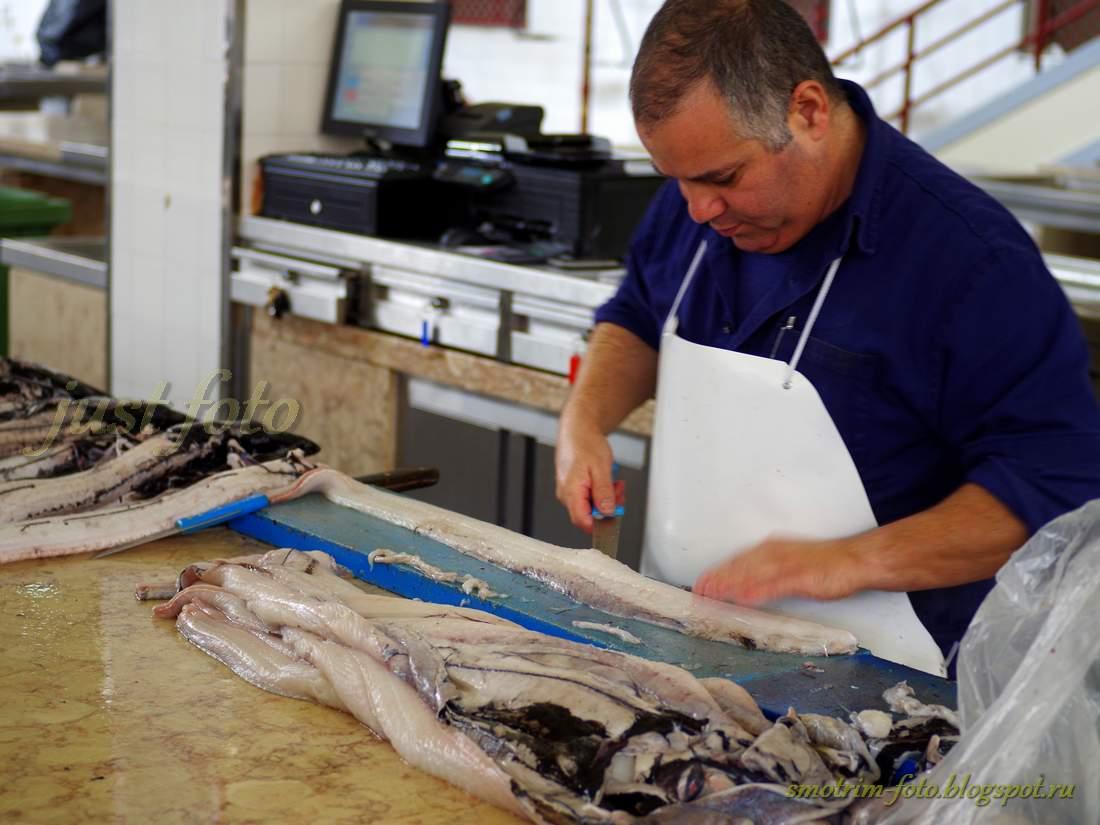 Деликатесы Мадейры - рыба espada