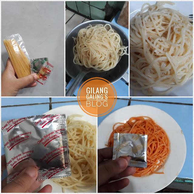 Cara Memasak Spaghetti Instant La Pasta Bolognese Keju mudah dan cepat lho