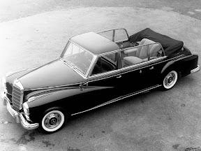 1960 Mercedes 300d Pullman Landaulet Popemobile - W189
