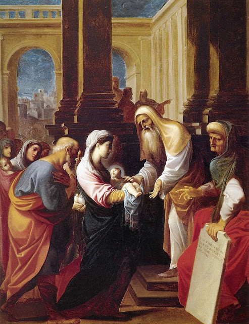 Ludovico Carracci - Presentation in the Temple