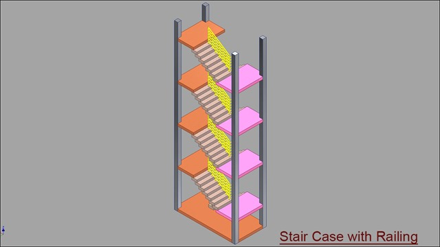 Double Fold Stair Case with Railing.jpg_4