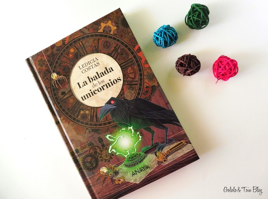 Literatura Anaya Juvenil La balada de los Unicornios