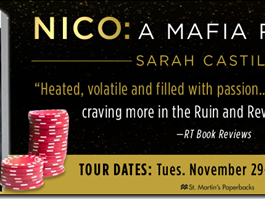 Spotlight: Nico (Ruin & Revenge #1) by Sarah Castille + Trailer, Excerpt, and Paperback GIVEAWAY
