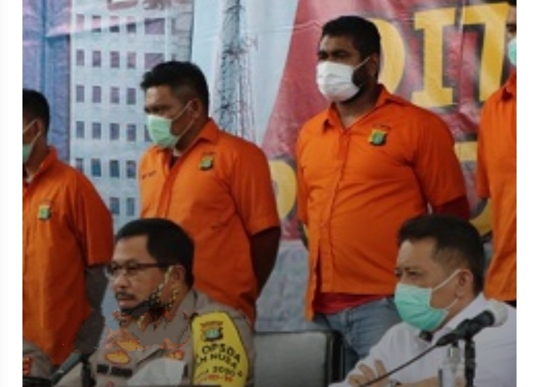 Jhon Kei Bersama 24 Anak Buahnya Dibekuk Polda Metro Jaya