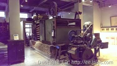 大溪老茶廠-製茶機