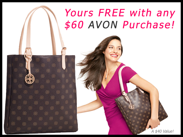 Get A FREE Avon Tote!