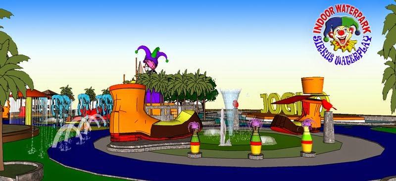 3d desain waterpark