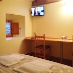 Todas las habitaciones tienen Televisión plana