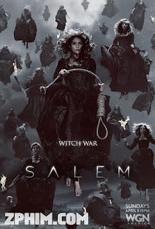 Thị Trấn Phù Thủy 2 - Salem Season 2 (2015) Poster