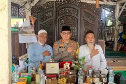 Kapolres Pasuruan AKBP Erick Frendriz, S.I.K., M.Si Silaturahmi ke Tokoh Ulama'