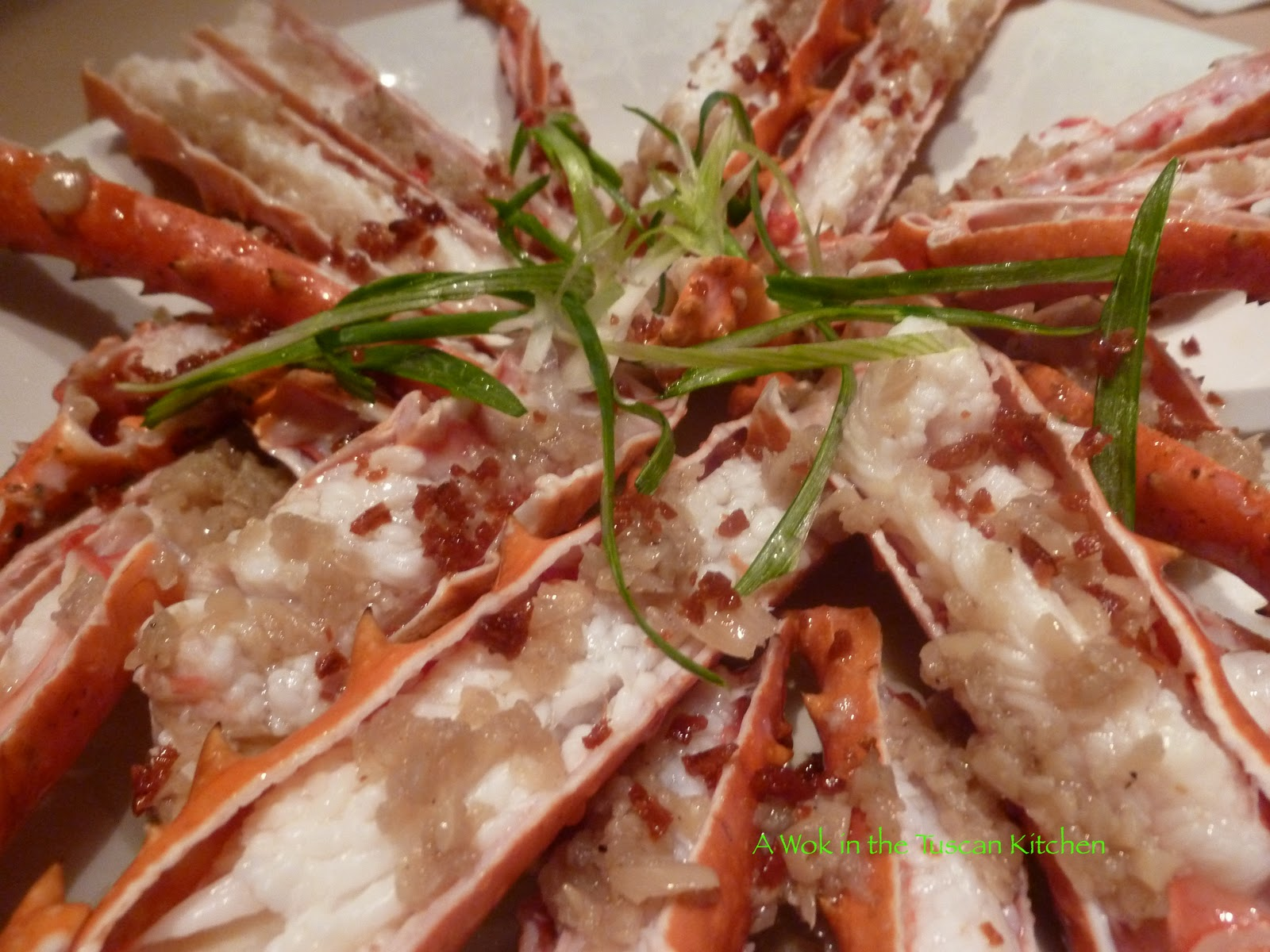 Alaskan King Crab Part 2 Recipe 1 Steamed With Garlic Sauce Chinese Style Just Like Your Favorite Restaurant