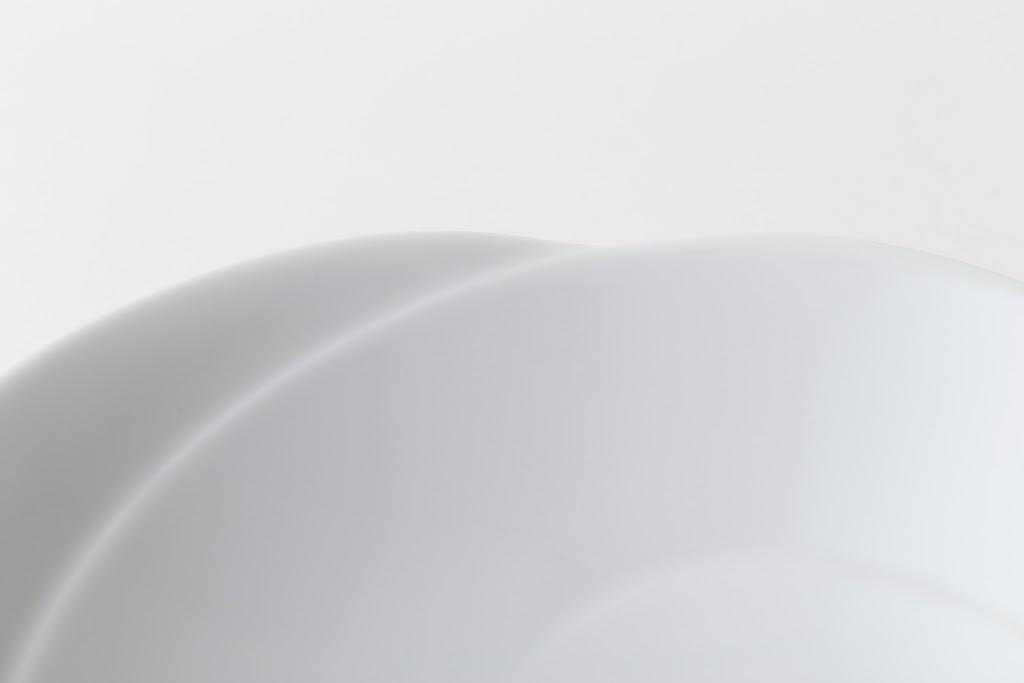 Tomoe Porcelain Asabachi Flat Bowl S