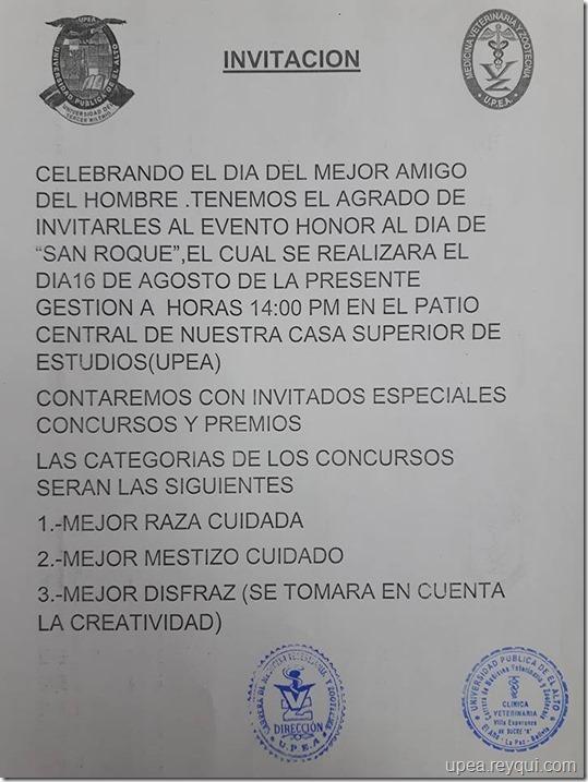 Concursos en la UPEA