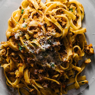 Kenji Lopez-Alt's The Best Slow-Cooked Bolognese Sauce.
