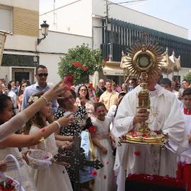 Corpus en Puebla de la Calzada