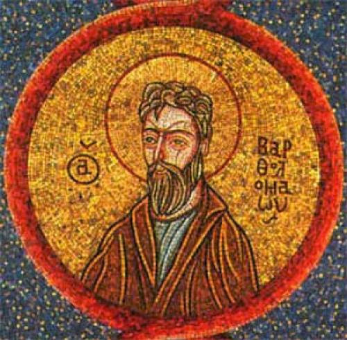 St Theodore The Studite On Bartholomew The Apostle