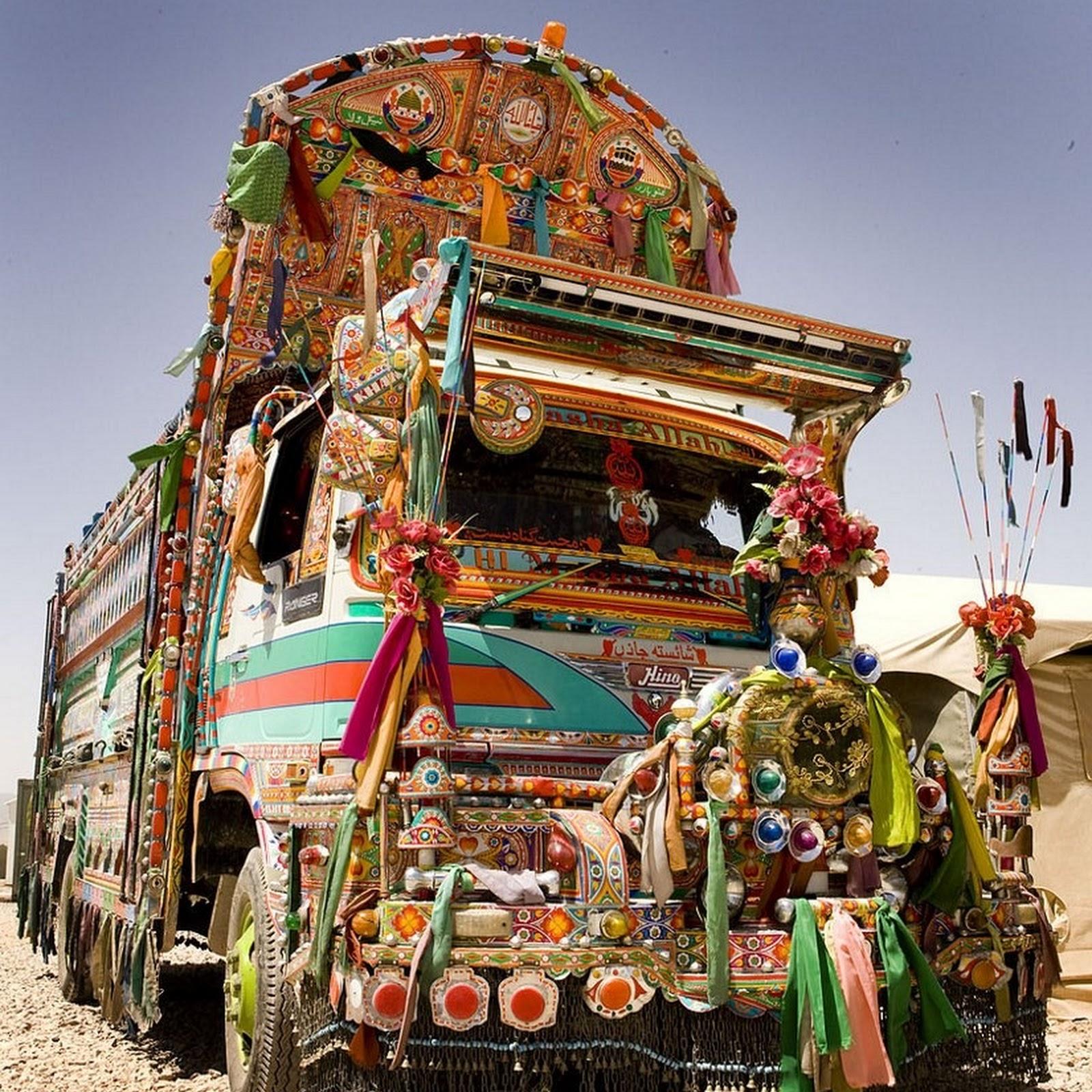 The Jingle Trucks of Pakistan