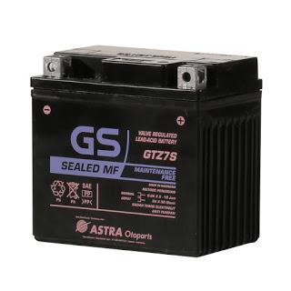 Aki GS GTZ7S Berapa Ampere ?? Ini Jawabannya