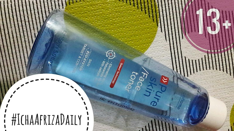 Review : Pure Skin Face Toner Target Control