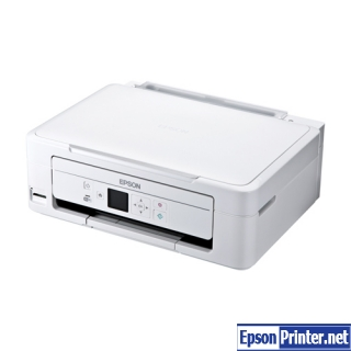 How to reset Epson PX-435A printer