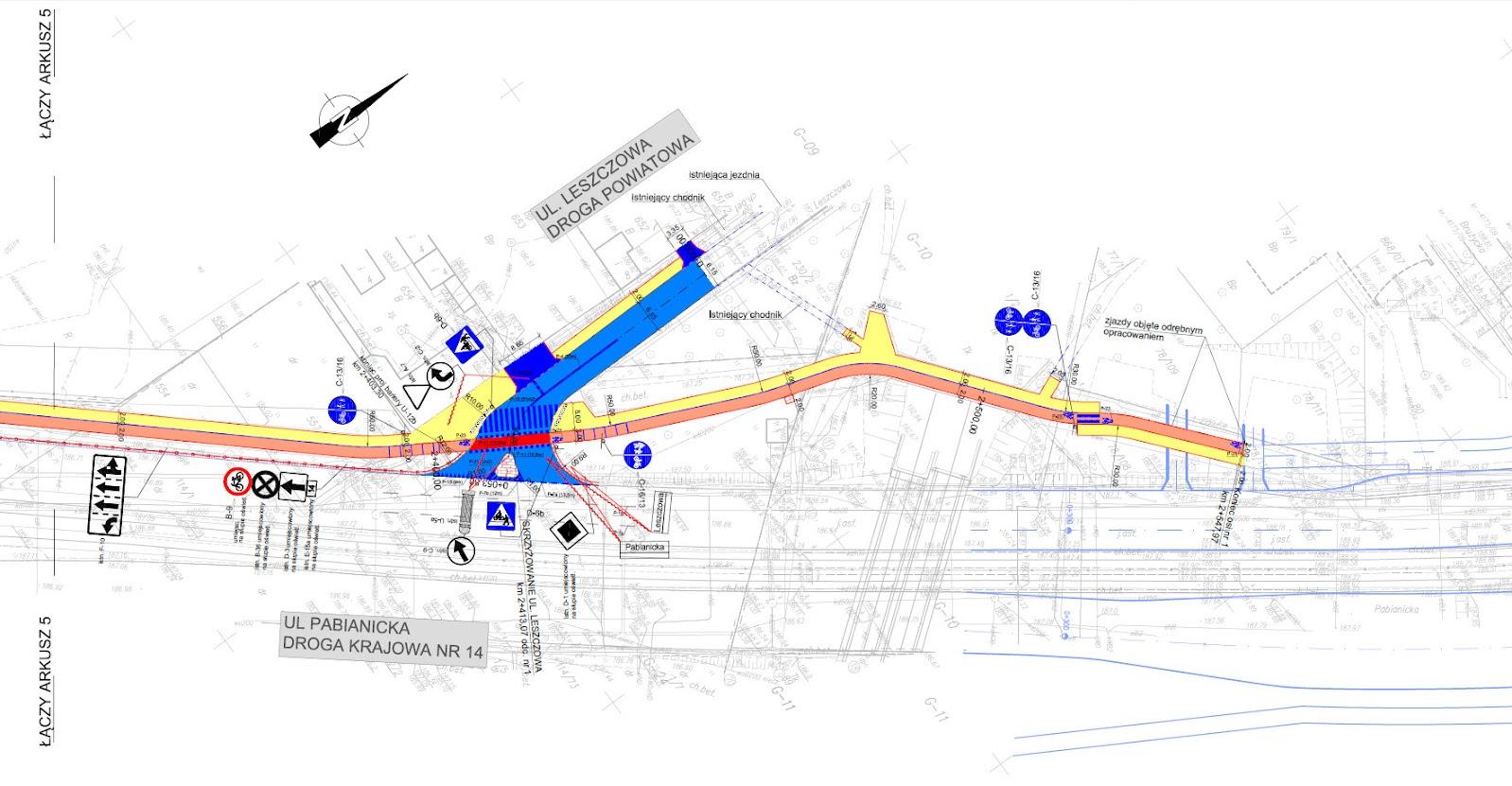 Dopięcie do istniejącej już drogi dla rowerów