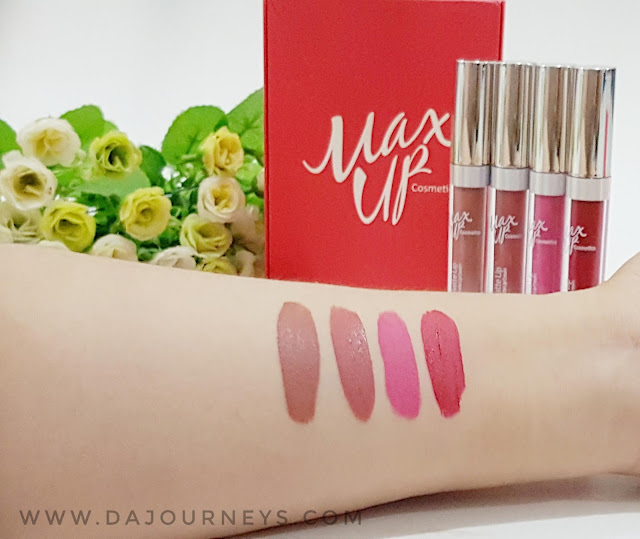 Review Suede Matte Lip by Max Up Cosmetics