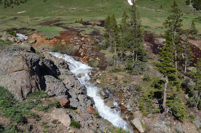 Matterhorn Creek cascading down