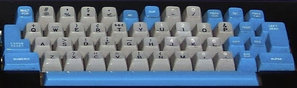 Keyboard from the IBM 029 keypunch. Photo by Carl Claunch.