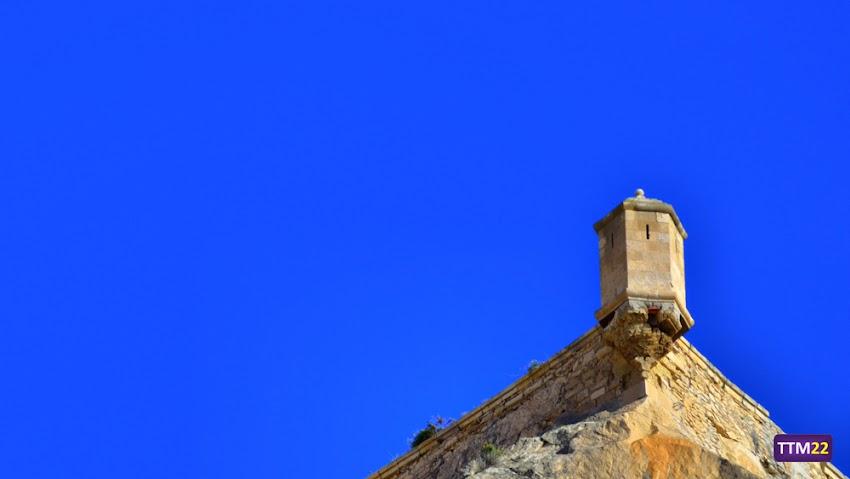 Nikon D5100, 55-200 mm, Edificios y Monumentos, Castillos, Castillo de Santa Bárbara, Parque La Ereta, Garita, Alicante, HDR,